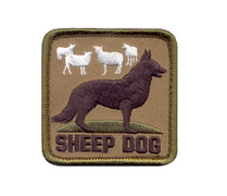 Rothco Sheep Dog Morale Patch