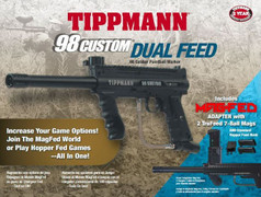 $30 REBATE! Tippmann 98 Custom Dual Feed Value Pack