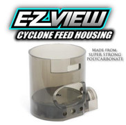 TechT E-Z View (EZ View) Cyclone Feed Housing - Polycarbonate