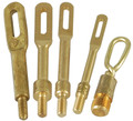 Tipton® Solid Brass Slotted Tips (Pistol/Rifle Combo .22 - .45 Cal) - 4PK