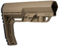 Mission First Tactical™ BMS - BATTLELINK™ Minimalist Stock MIL-SPEC - SCORCHED DARK EARTH