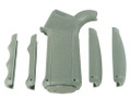 Mission First Tactical™ ENGAGE™ AR15/M16 Pistol Grip w/ Interchangeable Front and Back Straps - FOLIAGE GREEN