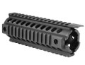 Mission First Tactical™ TEKKO™ AR Carbine T-MARC Integrated Rail System - BLACK