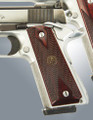 Pachmayr® Custom Laminate Grip Panels for 1911 - Double Diamond Rosewood