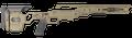 Cadex Defence™ LITE Strike Chassis - Rem 700 Short Action - TAN