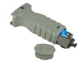 Mission First Tactical™ REACT™ RSG Short Vertical Front Grip - FOLIAGE GREEN