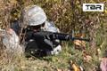 Tactical Brass Recovery™ Operator STD Length Brass Catcher AR-15 / AR-10 - BROWN