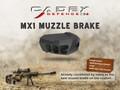 Cadex Defence™ MX1 Muzzle Brake (3/4-20 Threads)