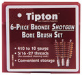 Tipton® 6-Piece Bronze Shotgun Bore Brush Set