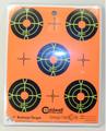 "Caldwell® Orange Peel 2"" Bullseye - 10 Sheets"