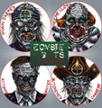 TargDots® Zombie Dots Practice Targets (Variety Pack)