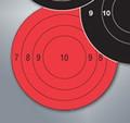 "TargDots® Bullseye 3"" Hot Slow Fire 25-PK"