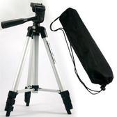 "50"" Portable Lightweight Tripod Camera Stand With Carry Case"