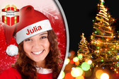 Personalised Santa Hat