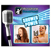 Novelty Retro Microphone Shower Head