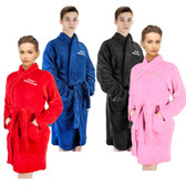 Ladies and Men Supersoft Dressing Gown