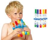 5 Pcs Water Flute Bath Toy