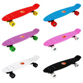 """22"""" Skate Board with Coloured Wheels"""