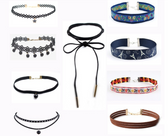 9 Pieces Choker Set - New Styles