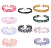 Colourful 10 Pieces Choker Set