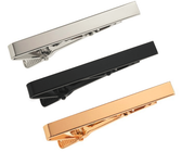 3 Pieces Mens Ties Bar Clips