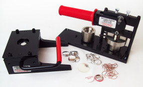 "1"" Tecre Button Making Kit - Machine, Graphic Punch, 5000 Pin Back Button Parts-FREE SHIPPING"