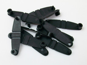250 Black Plastic Tabs - For use with Versa Back Parts