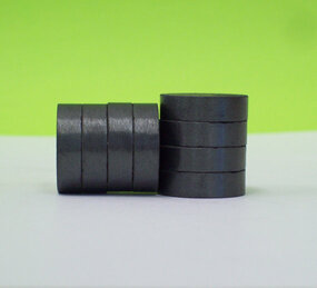 THICK 3/4 inch C8 Stong Ceramic Magnets ONLY for 1 Inch Buttons - 50