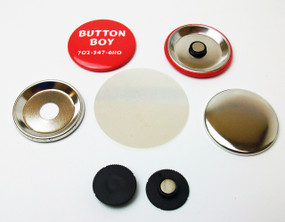 """NEW***  1.25"""" STD INDENTED MAGNET Parts with NEODYMIUM MAGNETS 1-1/4 Inch  500 PCS"""