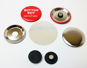 """NEW***  1.25"""" STD INDENTED MAGNET Parts with NEODYMIUM MAGNETS 1-1/4 Inch  1000 PCS"""