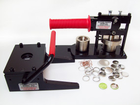"""7/8""""  Button Making Kit - Tecre Button Machine, Graphic Punch, 5000 7/8 Inch Pin Back Button Parts-FREE SHIPPING"""