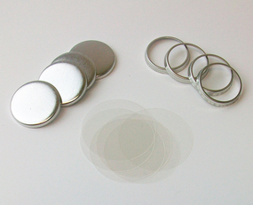 """7/8"""" Tecre Hollow Back Button Parts - 1000"""