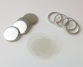 """7/8"""" Tecre Hollow Back Button Parts - 2000"""