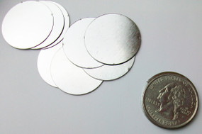 "Steel Metal Discs 1"" 25mm - 500 discs"