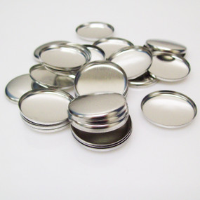 "Shells ONLY for 1 Inch ( 1"" ) Tecre Buttons - 250 pcs"