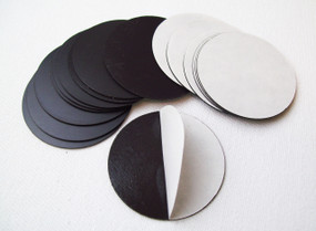 "Round 2.625"" Magnets with Peel and Stick for 3""  Buttons MAGNETS ONLY - 200 pcs"