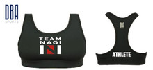 'TEAM NAGI' Sports Bra (Personalised)
