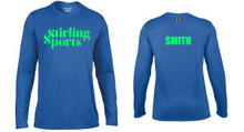 'STIRLING SPORTS' Personalised Long Sleeve T-Shirt