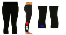 'RAF TRI' Black Leggings (Single Colour)