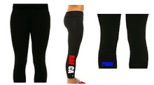 Copy of 'RAF TRI' Black Leggings (Single Colour)