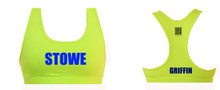 'STOWE' Sports Bra (PERSONALISED)
