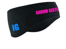 'SARUM SISTERS' Personalised Fleece Headbands