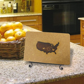 """This personalized handcrafted cutting board makes a unique and personal gift for a wedding, anniversary, holiday, or """"just because"""" gift. We can custom engrave a heart on any two cities. Please write your personal cities in the notes section during checkout.Select from 3 different sizes:***5 3/4"""" x 9 1/8""""***8 1/4"""" x 11 1/2""""***9 1/2"""" x 14""""This board is made to order. Board is perfect to prep for your family meal or to serve your guests. Designed with both beauty and function in mind, display and serve on the engraved side or chop on the back.The cutting board is made of richlite - a eco friendly paper-based fiber composite. It can withstand temperatures of up to 350 degrees, won't warp, and helps resist bacteria growth.Order today and your board will ship next day via UPS. Please allow 2-5 days shipping time."""