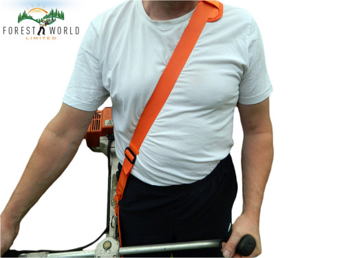 Brushcutter/strimmer comfortable basic padded harness,fits Ryobi,Kawasaki,Honda