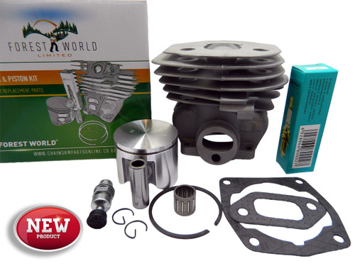 HUSQVARNA 357xp,357xpg cylinder kit,46 mm,NiSiC coated,new,by FOREST WORLD