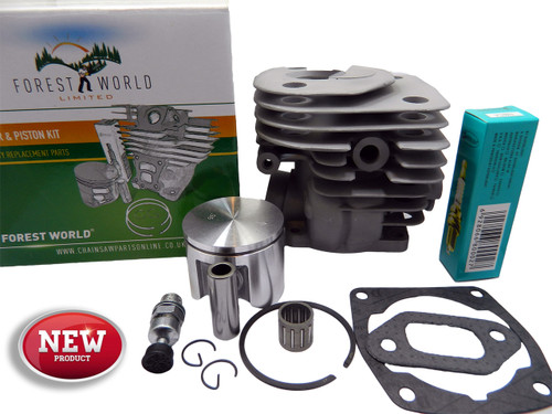 HUSQVARNA 359,359G,357xp cylinder kit,47 mm,NiSiC coated,new,by FOREST WORLD
