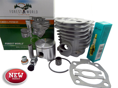 HUSQVARNA 51,55 cylinder kit,46 mm,NiSiC coated,503609171,new,by FOREST WORLD
