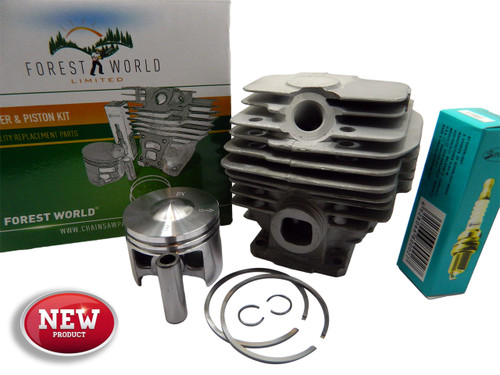 STIHL 028 AV Wood Boss cylinder kit,46 mm,NiSiC coated,new,by FOREST WORLD
