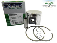Husqvarna 390,390 XP piston kit,55 mm,Made in Italy by METEOR