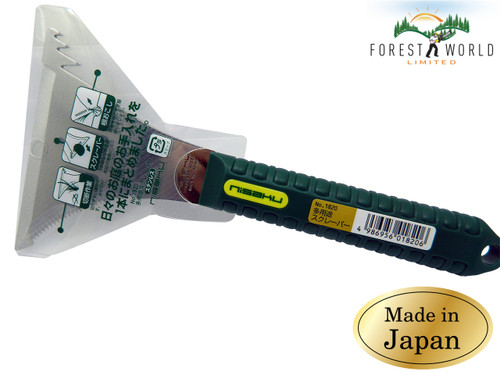 Japanese NISAKU Gardener's DIY Utility Scraper Tool,Stainless Steel blade